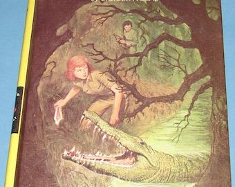 Nancy Drew #55 Mystery of Crocodile Island 1st Prt