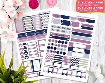 Printable Planner Stickers, Happy planner stickers, Erin Condren stickers