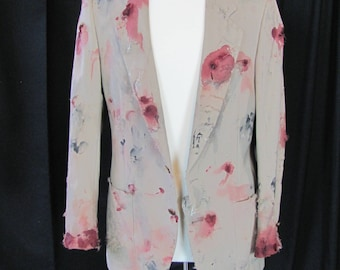 bloody (38) zombie coat, zombie businessman, zombie costume, coat, bloody, undead, living dead, halloween costume, zombie suit. Z5