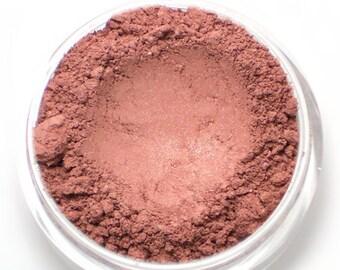 """Muted Berry Pink Blush - """"Forbidden"""" (shimmer, 4.5g Net wt, Vegan)"""
