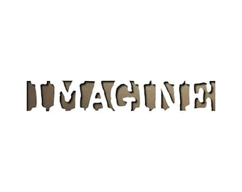 Tim Holtz Sizzix Movers and Shapers Repositionable Magnetic Die - IMAGINE 657202