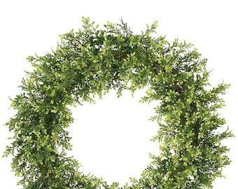 """Tealeaf Wreath 20"""""""