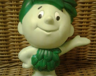 Vintage 1996 Jolly Green Giant Hard Rubber Toy
