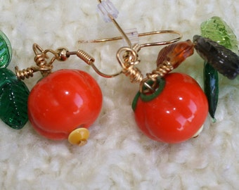 Pumpkin Patch Earrings