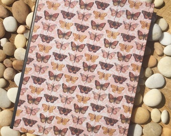 Butterfly Parade Altered Composition Notebook