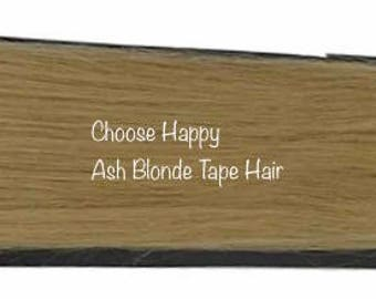 Ash Blonde Seamless Tape In Extension Remy Tape In Extensions Remy Human Hair Extensions Real Human Hair Tape Hair Colored Hair I need Hair