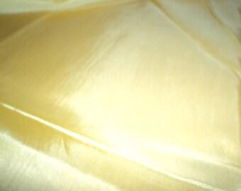 Coupon 80 centimeters sunshine yellow lining