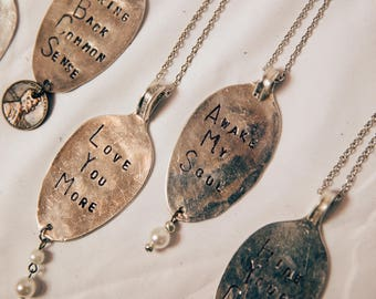 Vintage Spoon Necklace