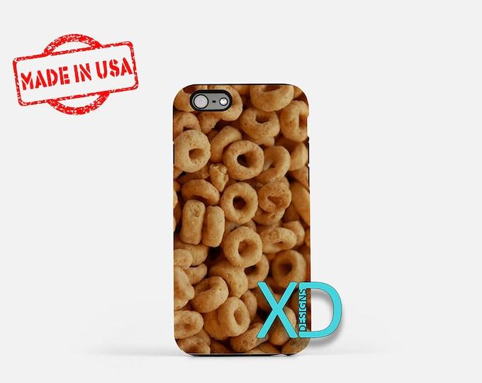 Cheerios iPhone Case, Cereal iPhone Case, Cheerios iPhone 8 Case, iPhone 6s Case, iPhone 7 Case, Phone Case, iPhone X Case, SE Case