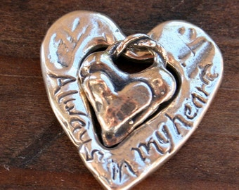 Sale Mother Daughter Sterling silver Charms