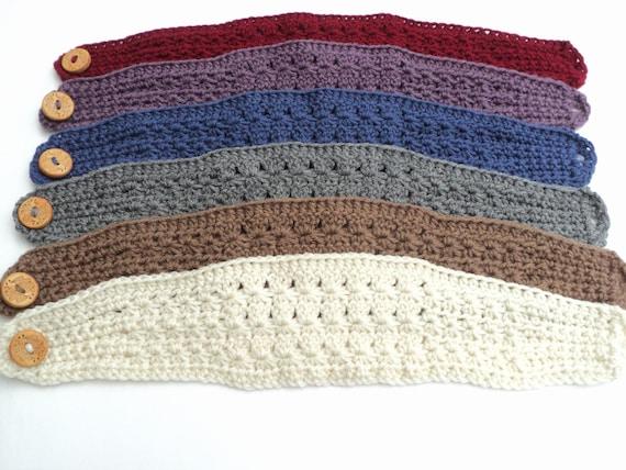Crochet Pattern Star Stitch Wide Headband Pattern Adult And
