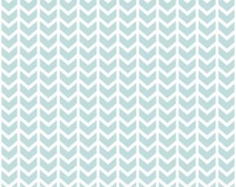 Mint Baby Bedding Fitted Crib Sheet -Changing Pad Covers /Mini Crib Sheets /Chevron Crib Bedding Change Pad Cover Mint Blue