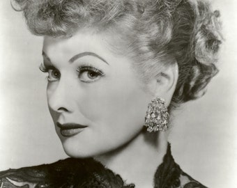 Lucy Lucille Ball Hollywood Poster Art Photo 11x14 and/or 16x20