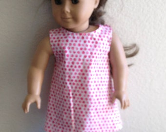 """Dress Made to fit 18"""" Dolls Such as American Girl Item #93"""