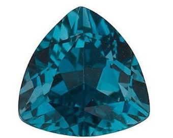 Natural London Blue Topaz AAA Trillion TOP QUALITY (4x4mm - 12x12mm) Loose Gemstones