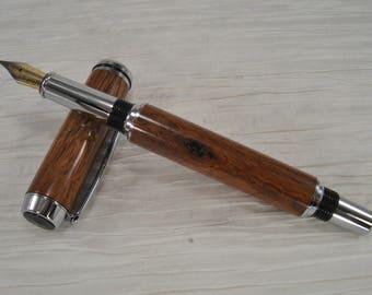Handmade Fountain Pen Desert ironwood 2809