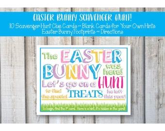 EASTER EGG SCAVENGER Hunt Cards, Easter Scavenger Hunt, Easter Basket Hunt, Easter Scavenger, Easter, Easter Egg Hunt Ideas, Printable
