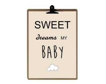 nursery print - Nursery art prints - baby nursery decor - nursery wall - Children Art - Kids Room