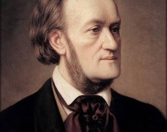 Poster, Many Sizes Available; Richard Wagner Portrait By Cäsar Willich