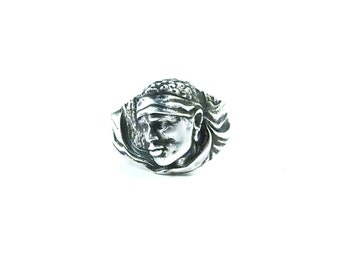 Moorish 925 sterling silver antique ring