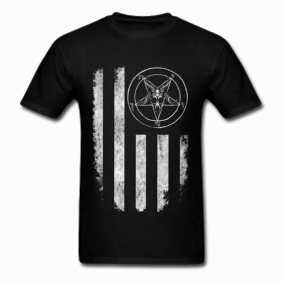 Baphomet Nation 666 T shirt
