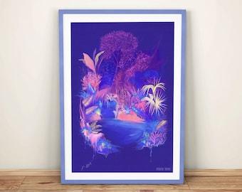 Hyperreality Print - A3
