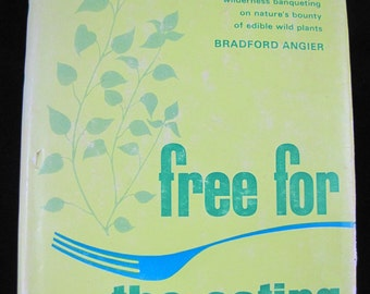 Free for the Eating // Nature Cookbook // 1966