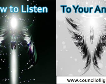 How to notice Angel Signs and Hear Angels Messages Online Course - FREE ANGELS BOOK, Angels online course, angels messages, hear angels.