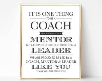 Digital Coach Quote Gift (We) | Best Coach Quote Gift | Coach Appreciation Gift | Coach Gift | Coach Printable