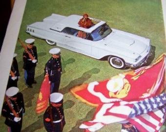 Ford  thunderbird  United States Marines ad