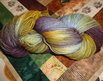 Avalon Hand Painted SW Wool/Nylon Sock Yarn