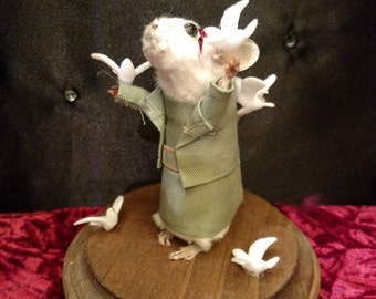 The Birds Taxidermy Mouse