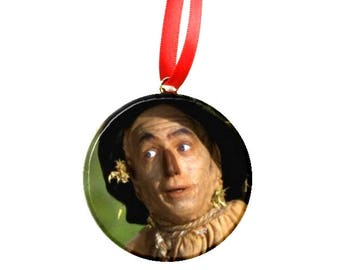 "Wizard of Oz Scarecrow  2.25"" Ornament"