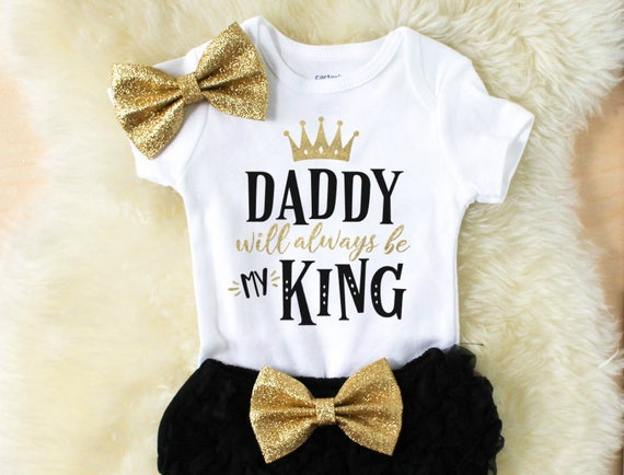 bec72a5aa Well-liked baby girl outfits baby girl clothes daddy daddys girl UB82