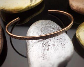 Copper Cuff Bracelet, Copper Bracelet, Hammered Bracelet, Hammered Copper Bracelet, Copper Cuff, Cuff Bracelet, Hammered Cuff Bracelet