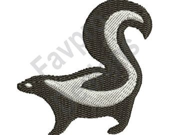 Cute Skunk - Machine Embroidery Design