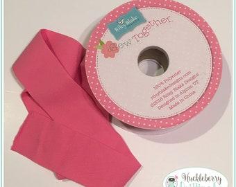 2 Inch Elastic Waistband, Hot Pink, Riley Blake Designs