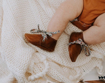 Baby Leather Oxfords