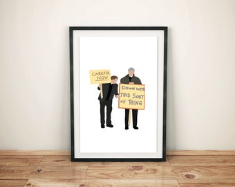 Father Ted Minimal Style