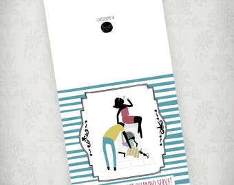 Funny love card, italian love cards, work together card, love greeting card, italian sayings, love quotes