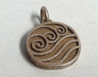 Avatar The Last Airbender Water Tribe Stainless Steel 3D Printed Jewelry Pendant