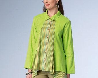 Butterick Sewing Pattern B6177 Misses' Shirt