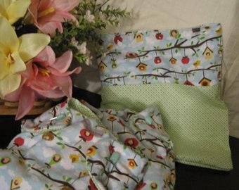 Birdhouse Diaper Set