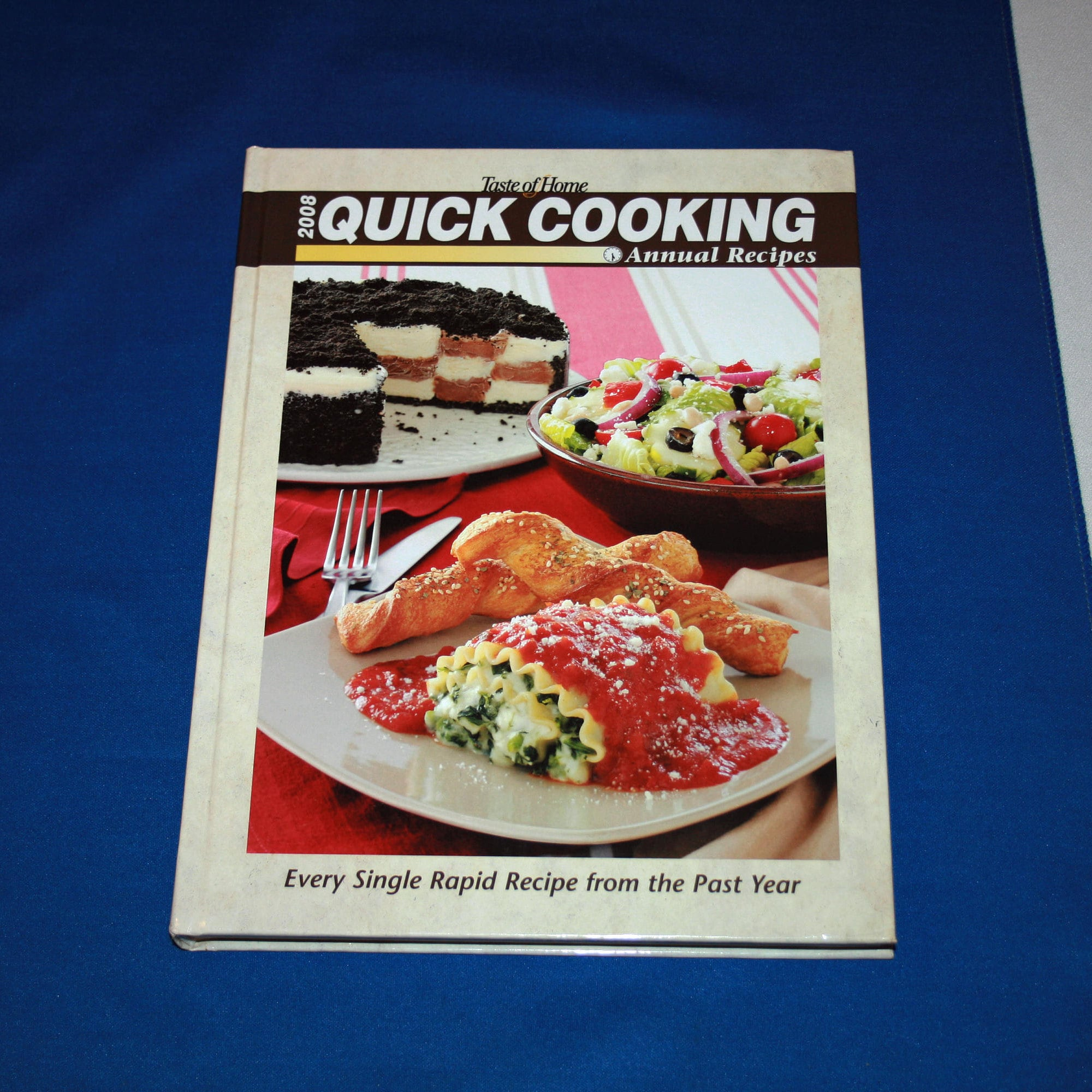 Taste of home 2008 quick cooking annual recipes cookbook hardcover taste of home 2008 quick cooking annual recipes cookbook hardcover recipe dessert meal planning contest winning dishes cook book desserts forumfinder Gallery