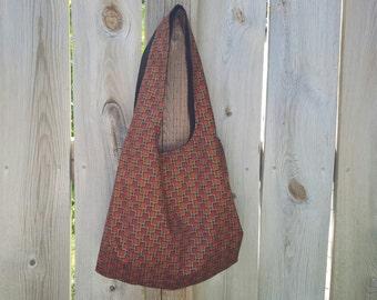 Short Handled Handbag - Rust