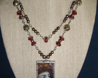 PreRaphaelite Angel Necklace inv56