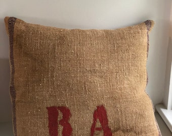 Authentic Italian Grain Sack Pillows