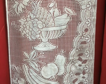 French Lace Window Panel Curtain