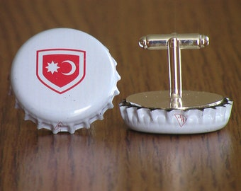 NEW VERY RARE Transylvania Szeklerland Forbidden Csíki Cream Bock Beer Cap Cufflinks