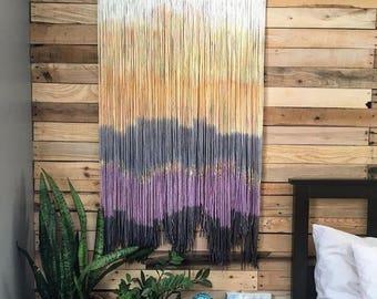 Yarn wall hanging -Raina